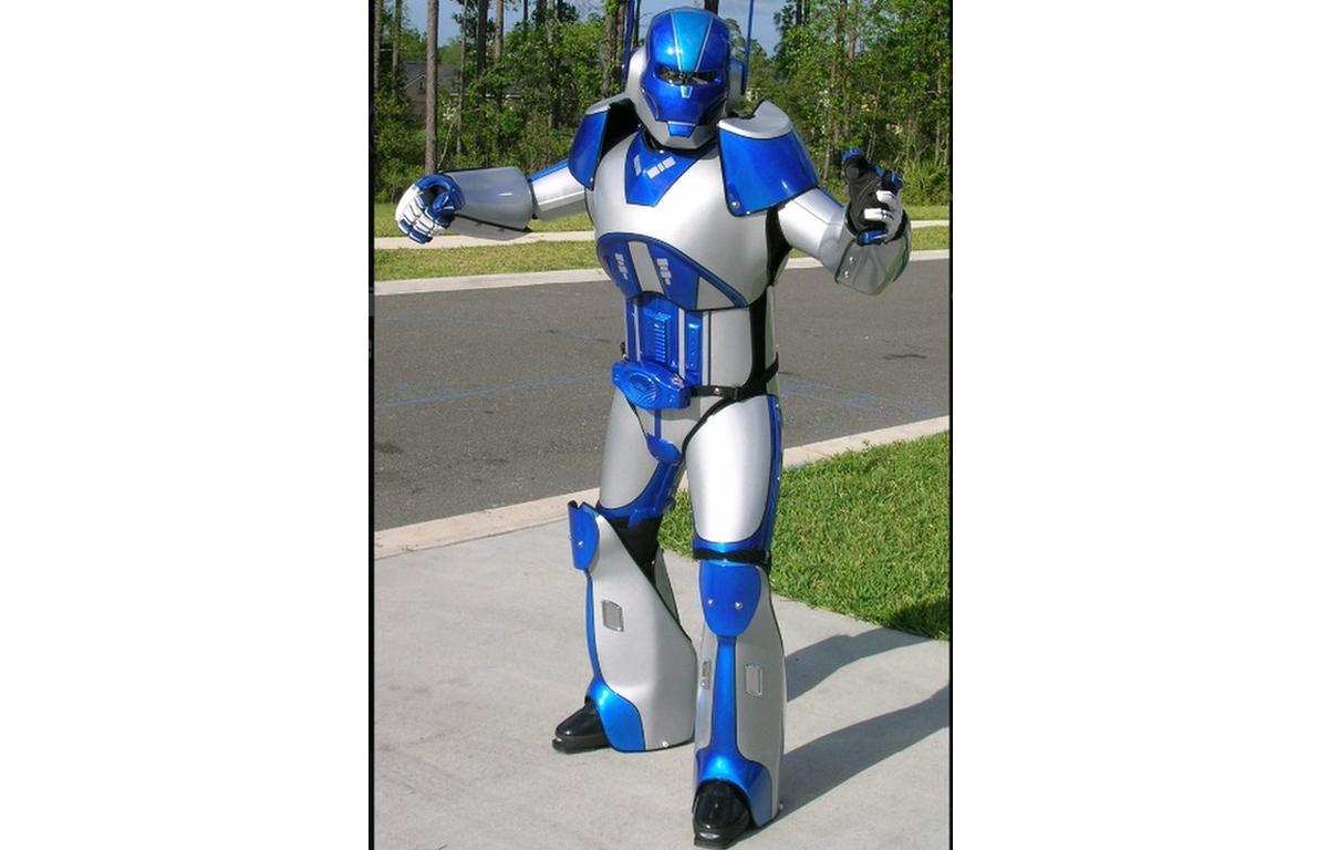 COSTUME ROBOT-1